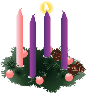 four-purple-advent-candles-one-lit
