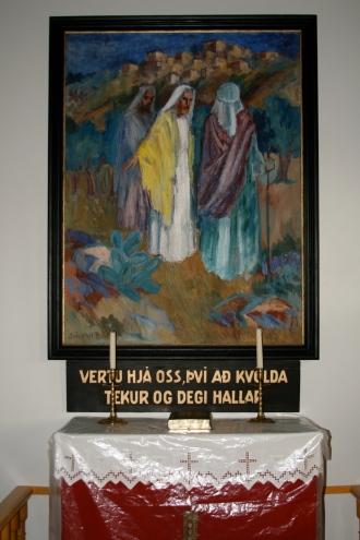 Eiríksstaðir - altaristafla